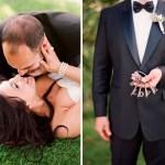 love keys wedding couple