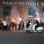 wedding exit scooter