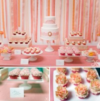 A Modern, Pretty Pink Bridal Shower - Green Wedding Shoes