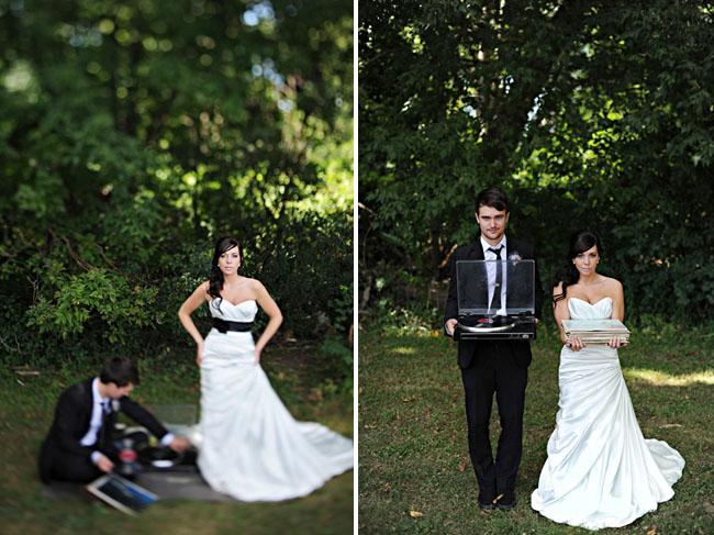 Brittanie + Zach\u0027s Music Inspired Real Wedding