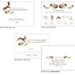 woodland wedding invites