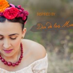 dia de los muertos, floral hair piece