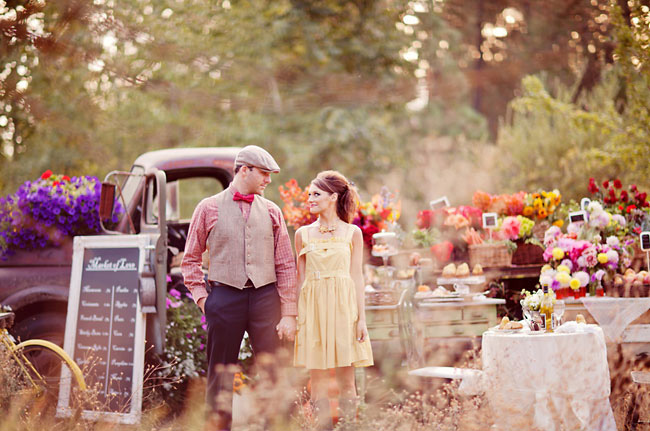 Fall Outdoor Decorations Wallpaper French Farmer S Market Engagement Session