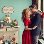 candyland wedding inspiration