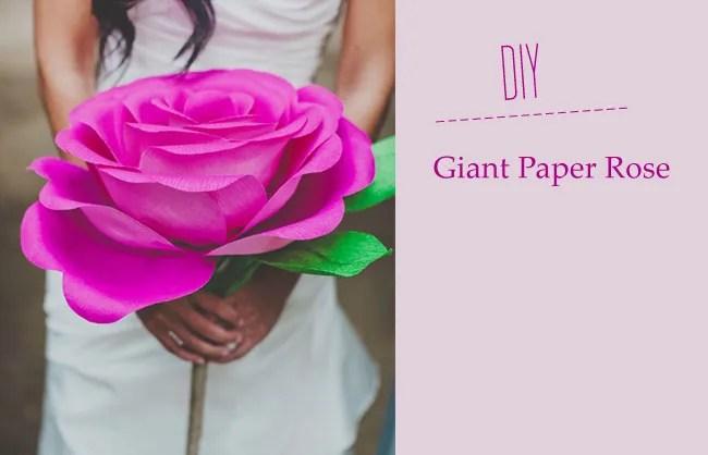 Как сделать большой цветок роза из бумаги