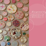 embroidery hoops wall decor