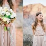 desert bridal shoot