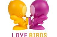 love-birds-cake-topper kronk vinyl toy