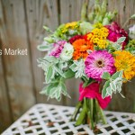 DIY farmer's market bouquet