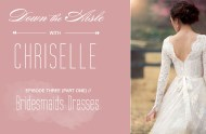 down the aisle with chriselle bridesmaids part 1