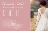 Down the Aisle with Chriselle DIY video