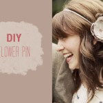 DIY Flower Pin