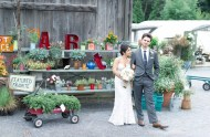 herb farm wedding
