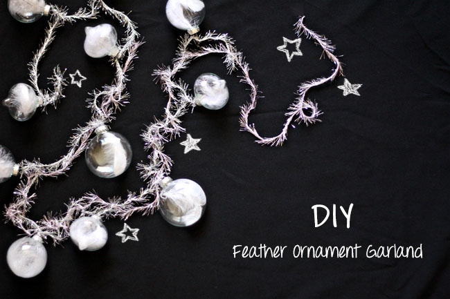 DIY-Feather-Garland