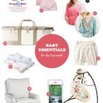 first month baby essentials