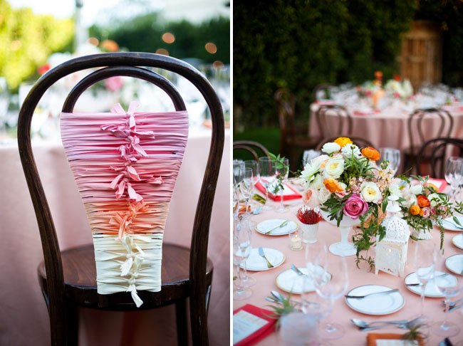 Pink Ombre Wedding At The Parker Palm Springs Lindsey Eddie
