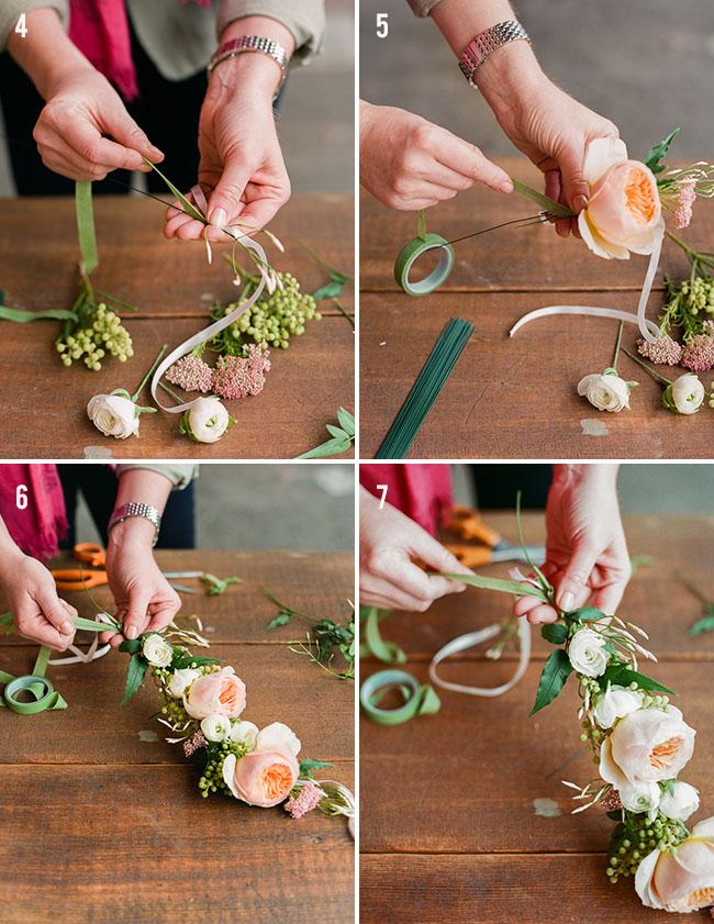 Фото как сделать искусственные цветы своими руками из