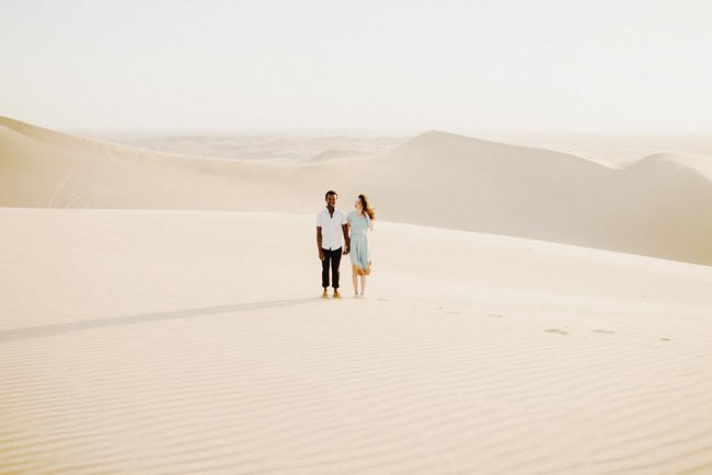 desert engagement