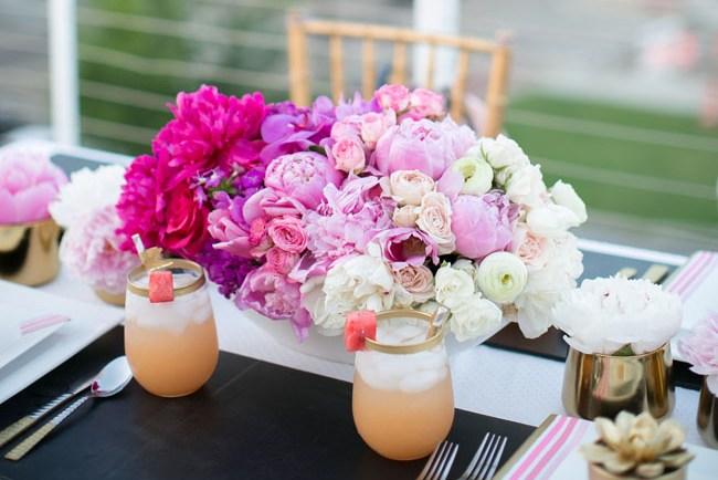 ombre florals
