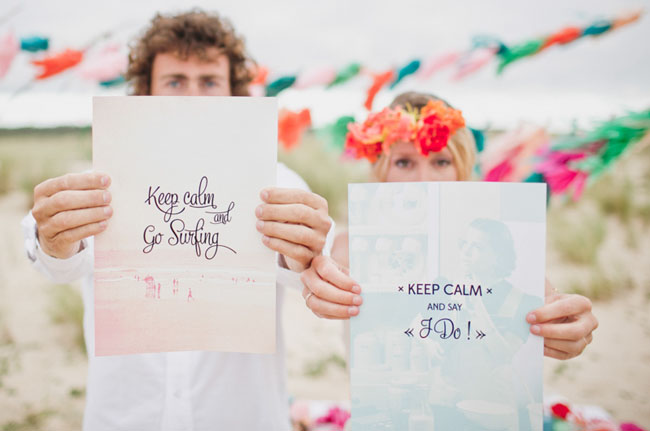 surf wedding inspiration