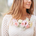 DIY Floral Necklace