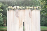 Diy pergola floral project