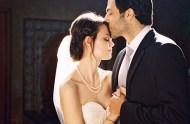 LA bride and groom