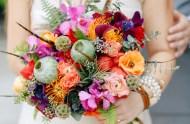 chicago boho inspiration bouquet