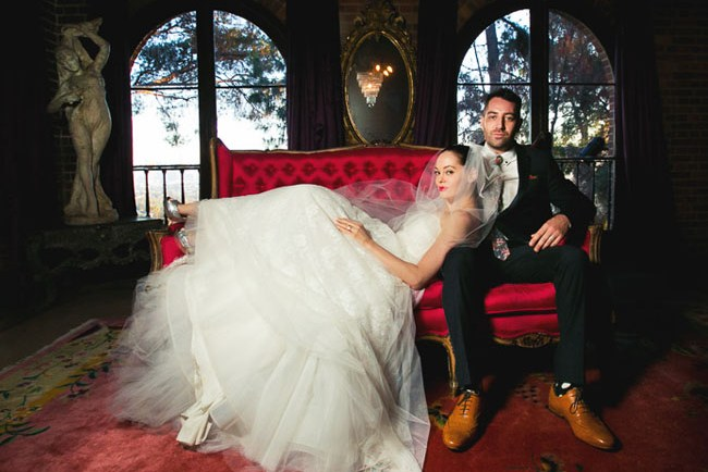 Rose McGowan Wedding