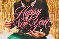 happy new year laser cut