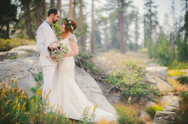 california rustic wedding