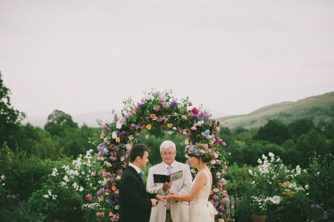 UK lake district wedding