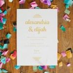 makr confetti invite