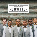 two guys bow tie