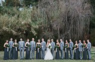 Malibu forest wedding