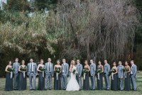 Malibu forest wedding