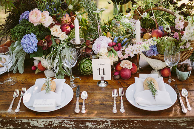 farm to table inspiration