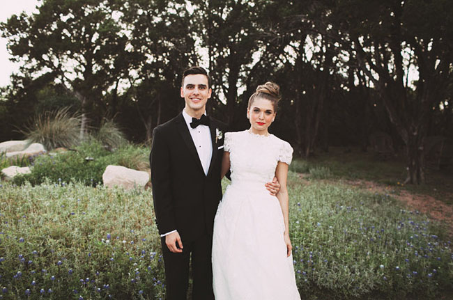 Texas glam wedding