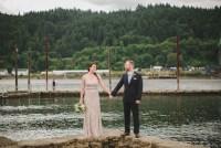 elopement under a bridge