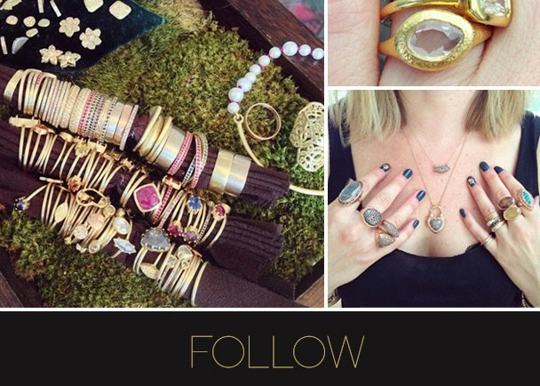 Follow LoveGold on Pinterest