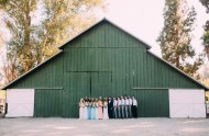 bohemian barn wedding