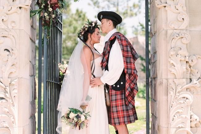 Outlander inspired wedding