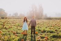 pumpkin patch engagement