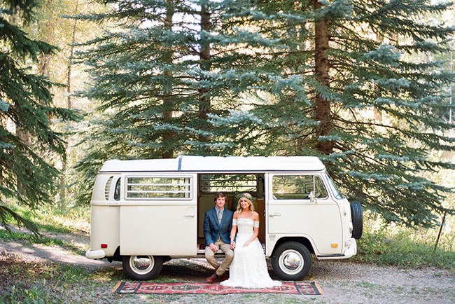 Aspen VW bus elopement