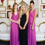 glam bridesmaid dresses