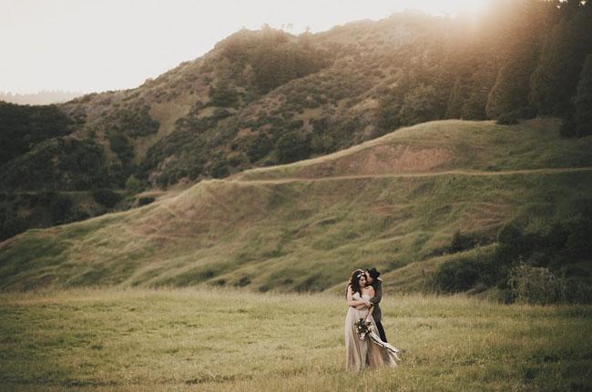Nothern California lake wedding