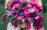secret garden purple bouquet