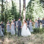 Woodsy Washington wedding