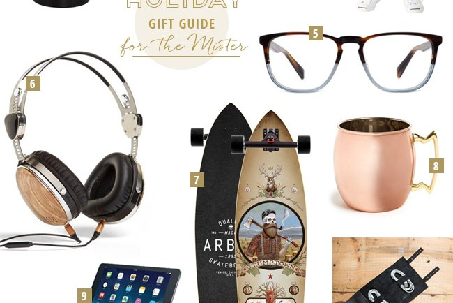 Holiday Gift Guide for the Mister