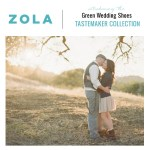 Zola Tastemaker Collection with Green Wedding Shoes